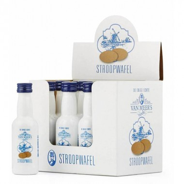 Stroopwafel likeur shot 0,05 cl. van Meer's