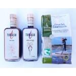 Tomasu combi-deal Sojasaus en Sweet soy 200ml + gratis Keltisch zeezout