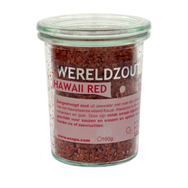 Hawaii Red zongedroogd zout