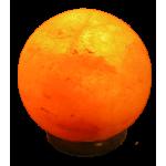 Himalayazout zoutlamp planeetvorm 3-5 kilo